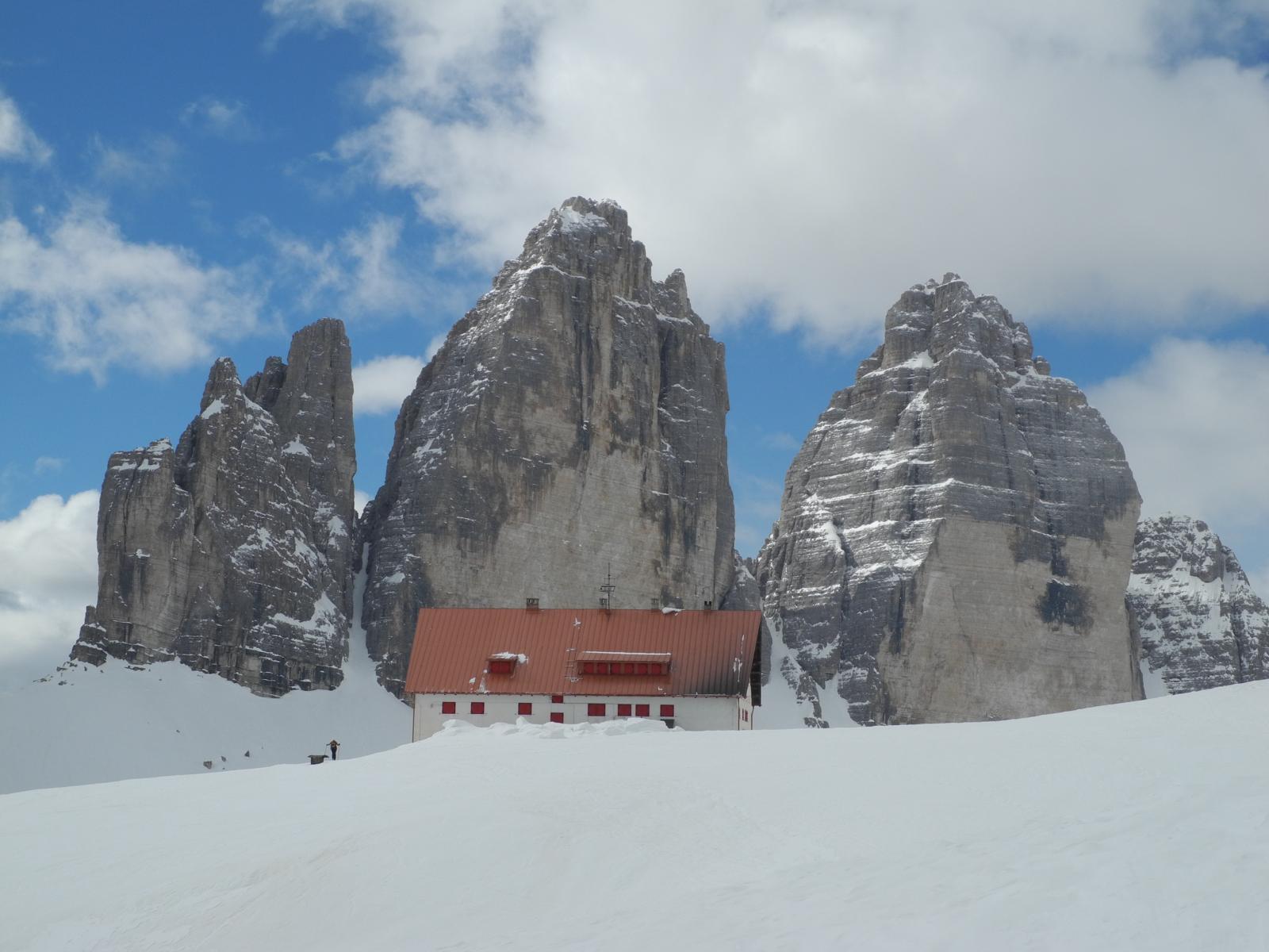 Locatelli (Rifugio) dalla Val Fiscalina 2014-04-10