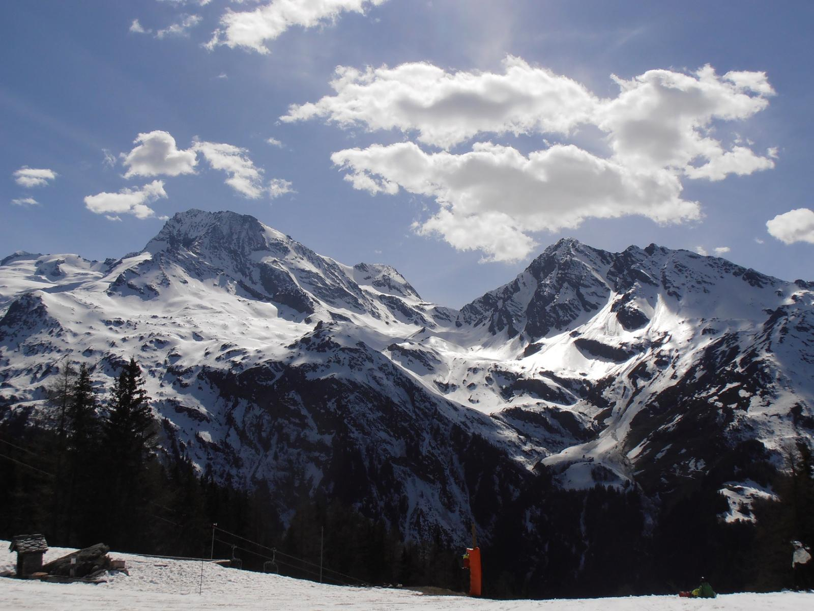 16 - Belle luci su Mont Pourri e Aguille Rouge