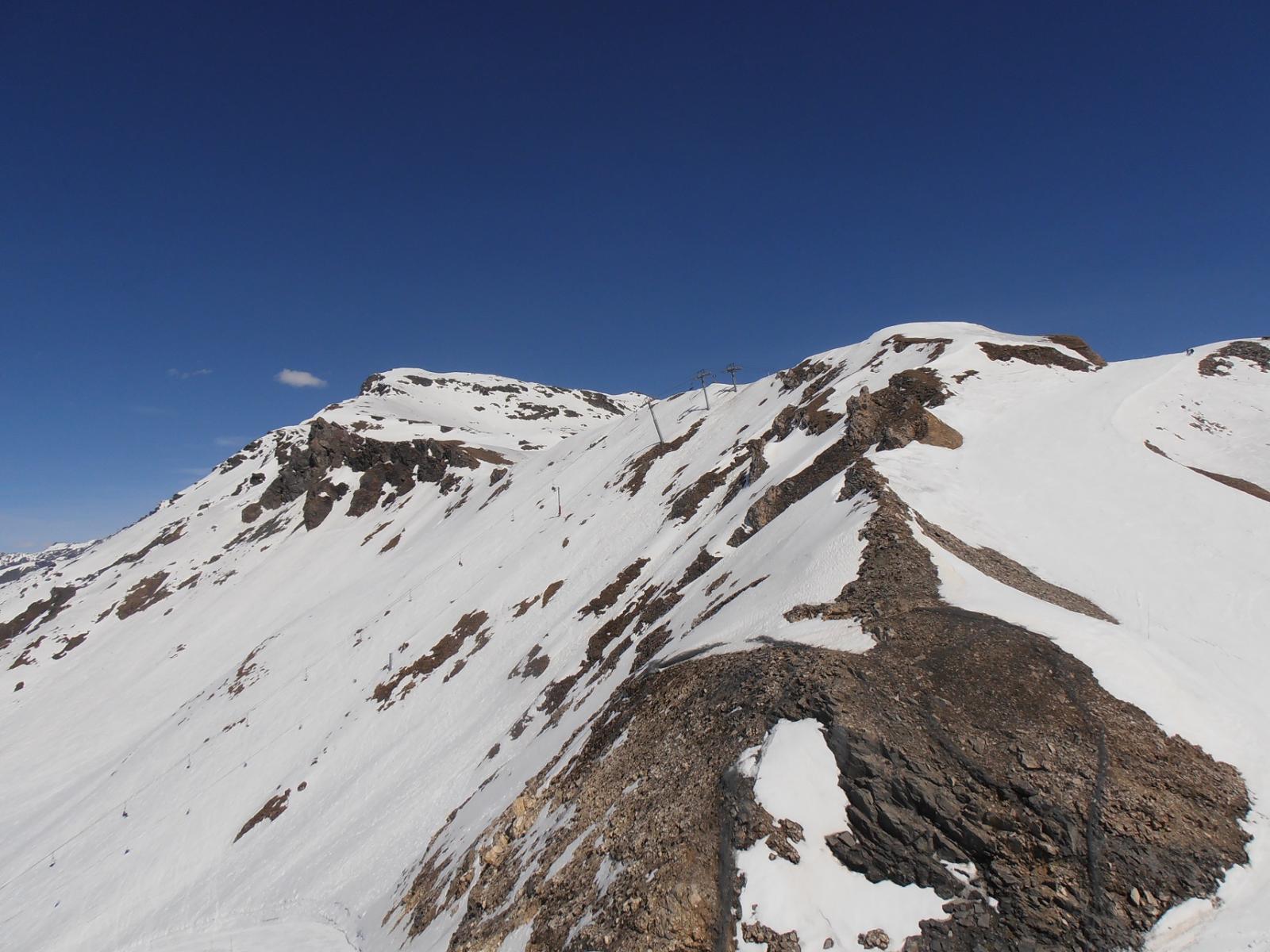 07 - Dal Col de l'Aguille verso la Punta Foglietta