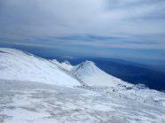 dalla cima vista sul piccolo Ararat