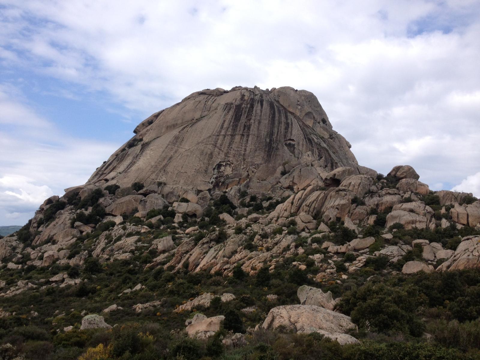 La parete Est del monte Pulchiana