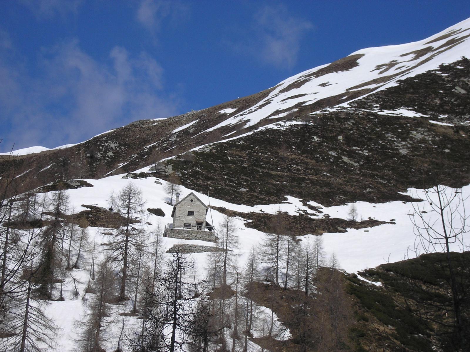 alpe buriale rifugio Usuelli