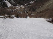 Con gli sci fino in paese