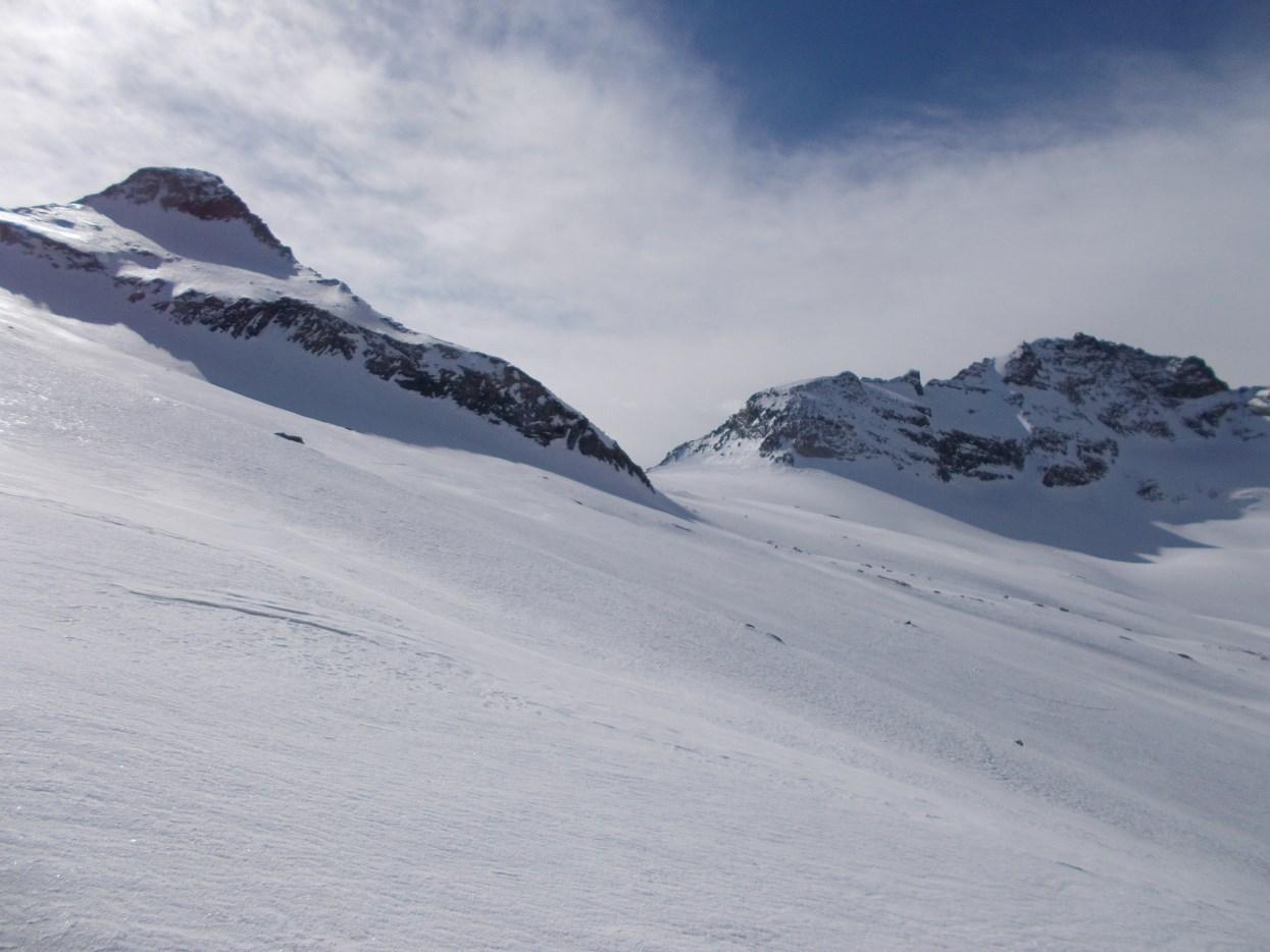 Mittelruck (Pizzo Loranco) e Sonnighorn (Pizzo Bottarello)