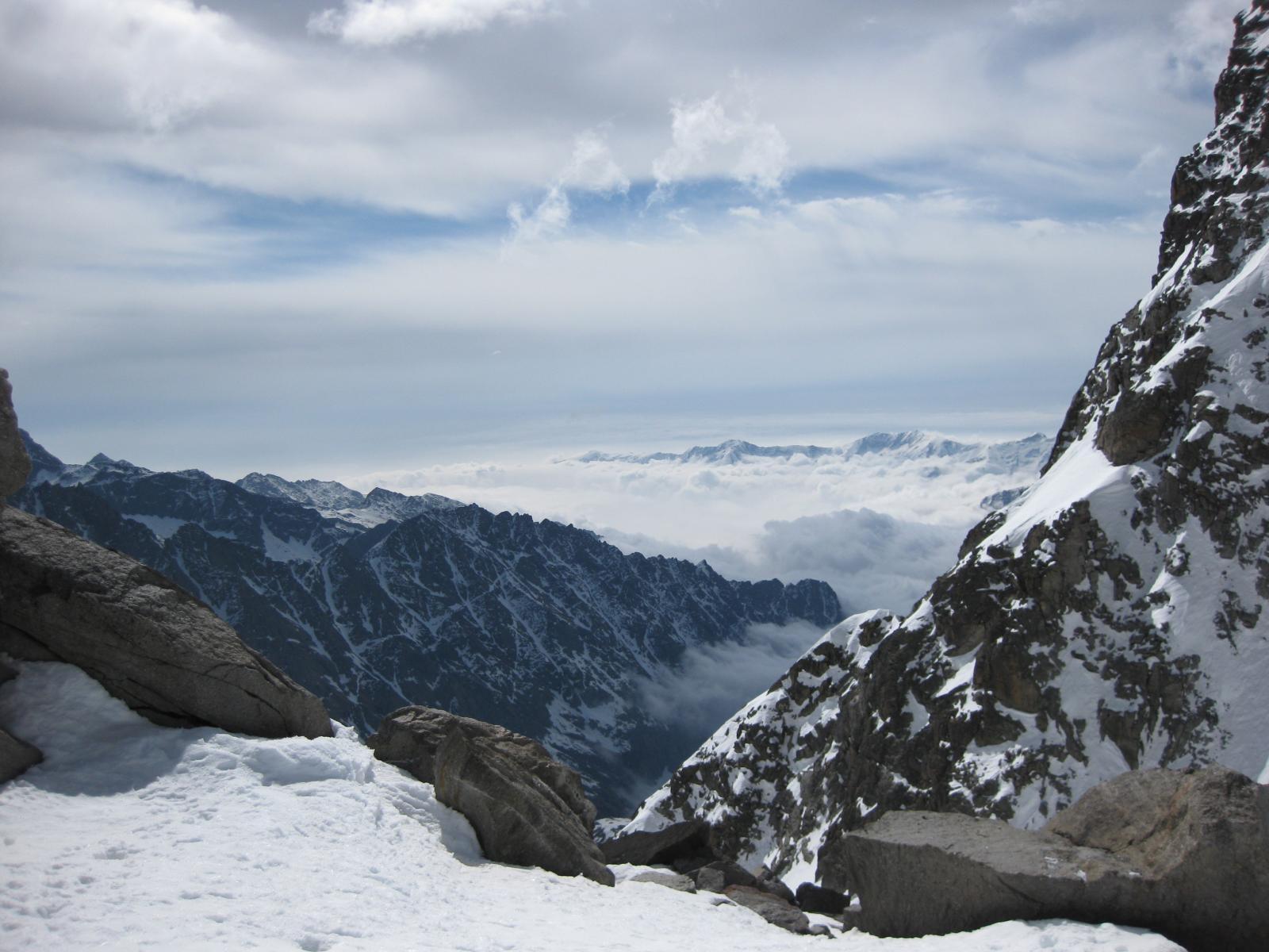 la bocchetta Monte Nero