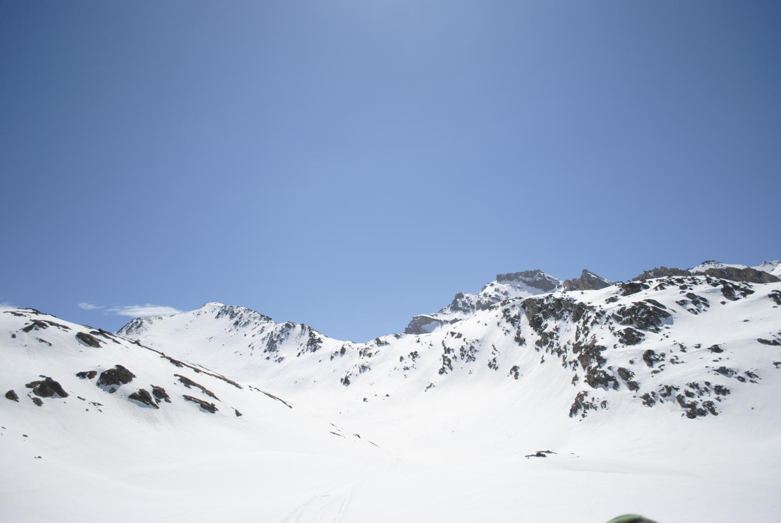 uno sguardo verso il Monte Salza