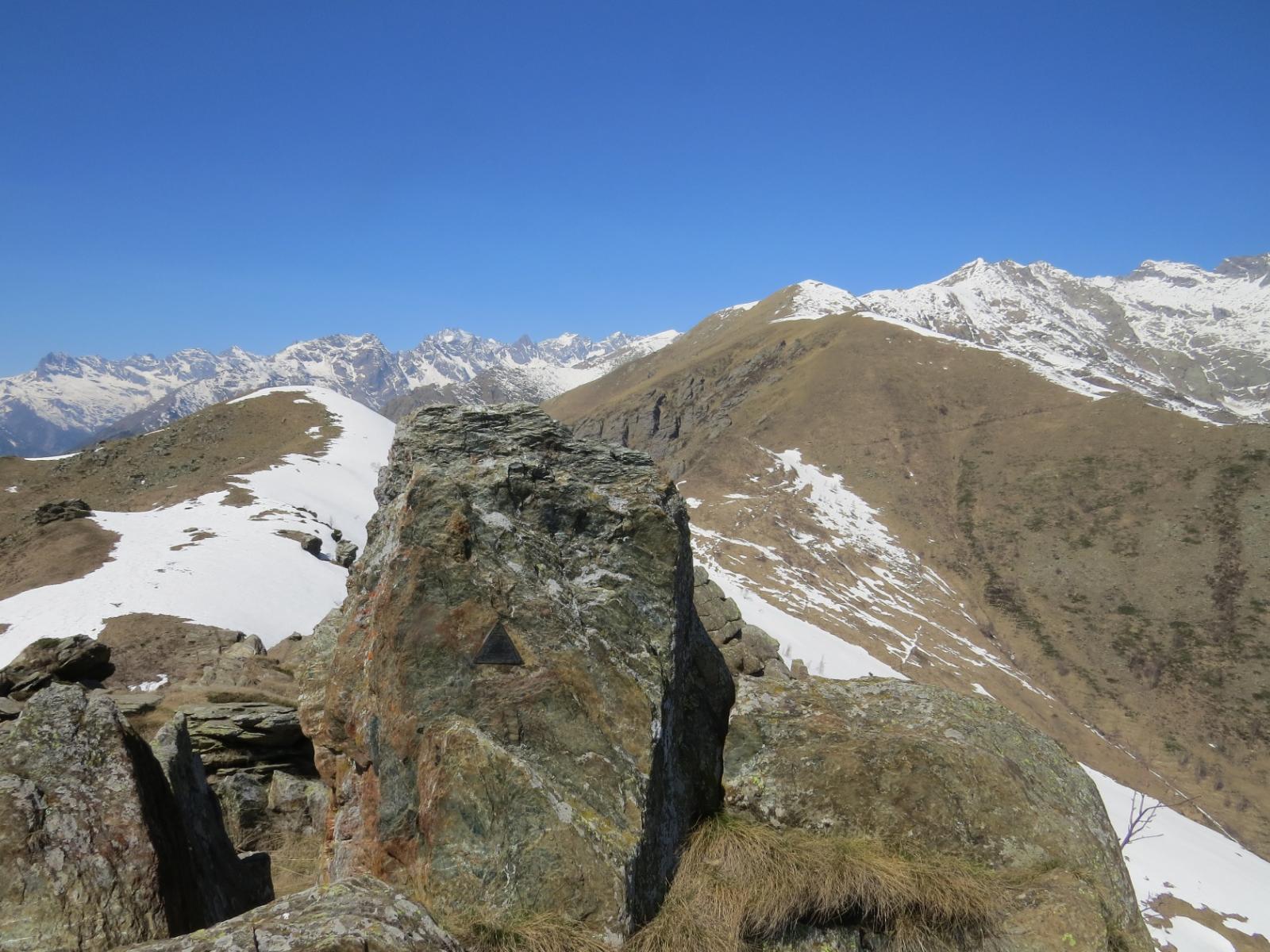 Monte Arzola e Cima Busiera, dal Roc delle Teste
