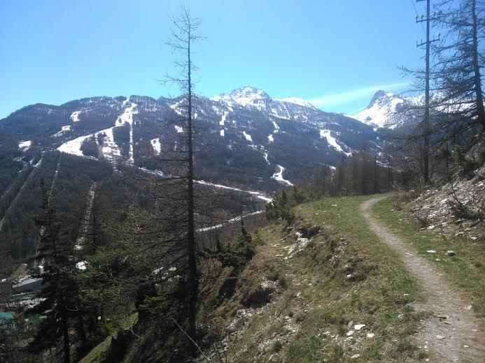 Sentiero Paradiso Da Borgo Vecchio 2014-04-15