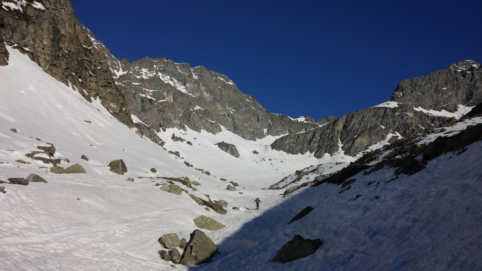 finalmente si mettono gli sci