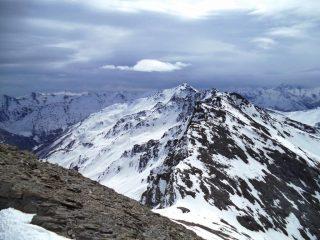 valle argentiera salendo alla cima