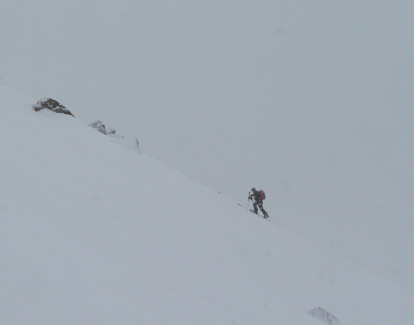 Ultimi passi, bella nevicata!!