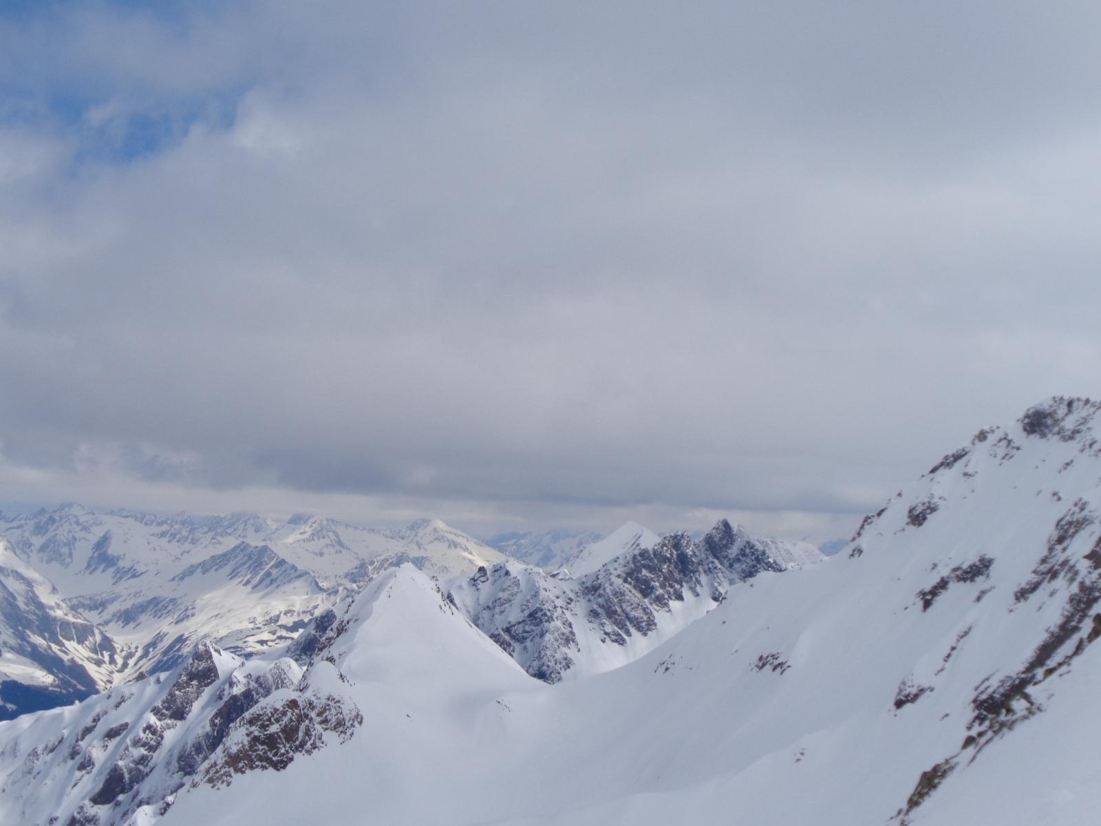 Vista verso il Poncione Val Piana
