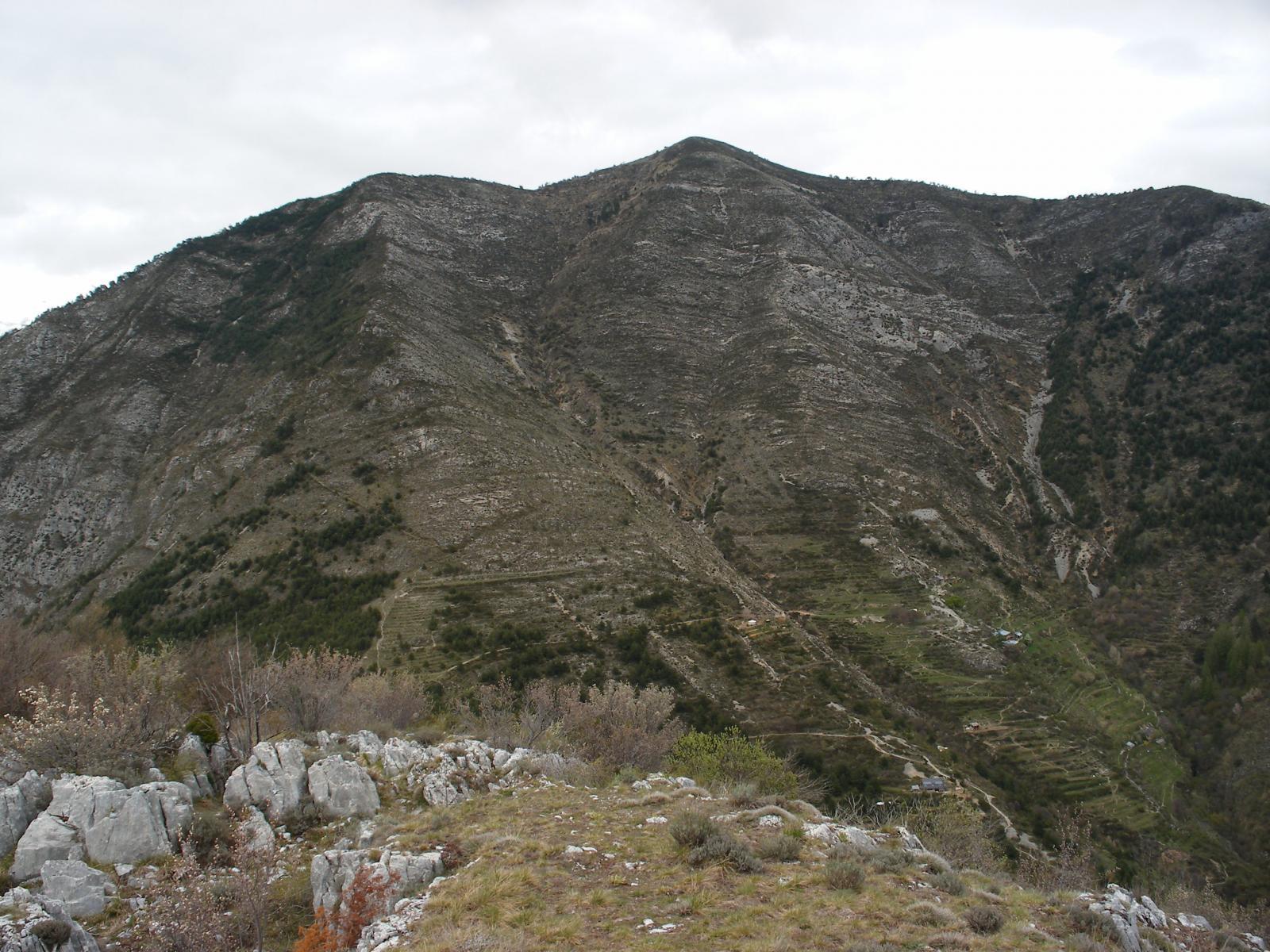 Monte Bergiorin dal Chaberta