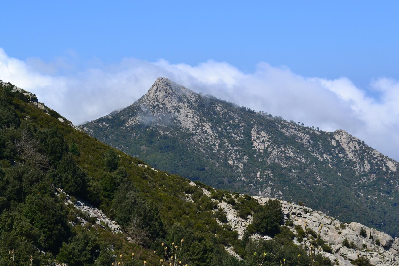 la bella piramide del Monte Giove