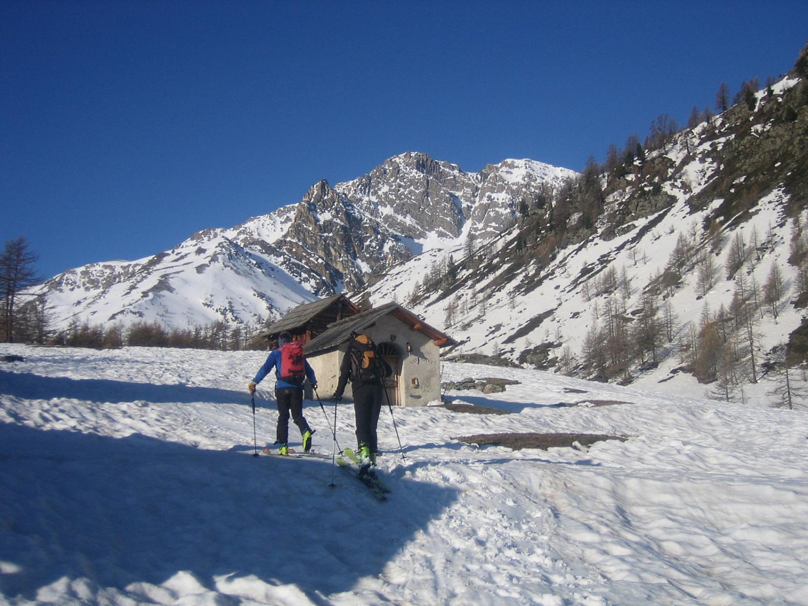 poco sopra gli chalets e refuge de Buffère 2070 m.