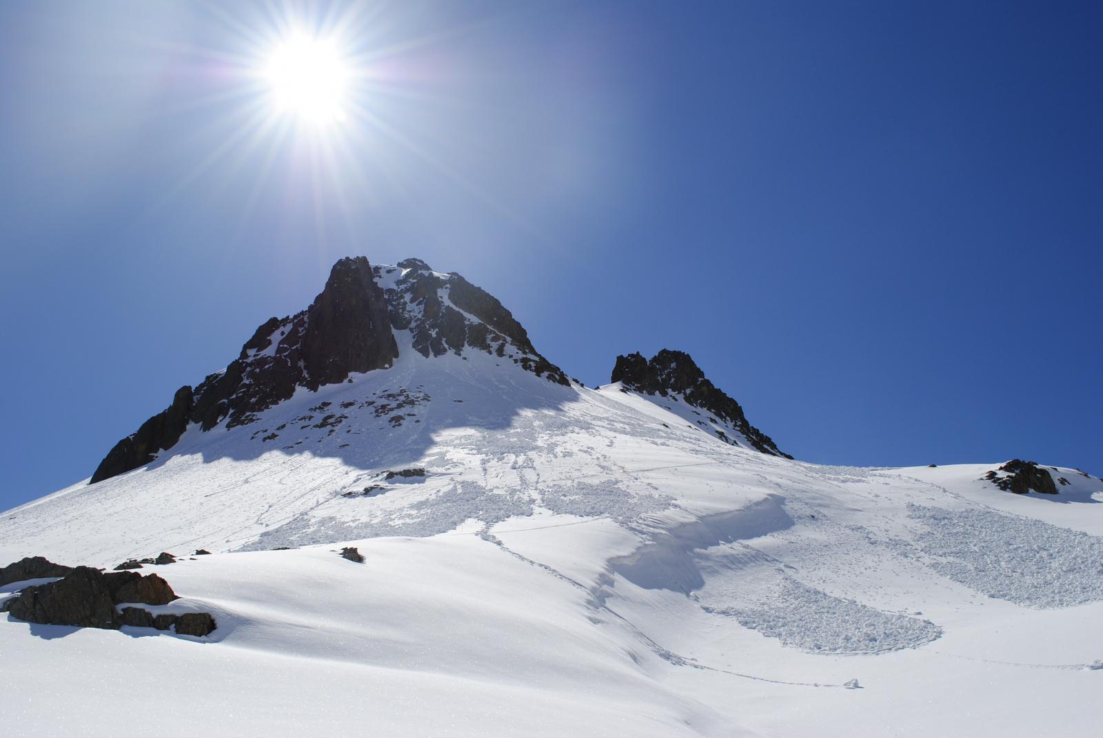 Montagnetta Est (Cima della) da Pietraporzio 2014-04-24