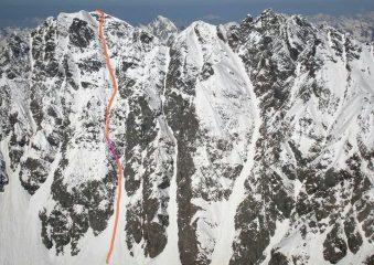 il tracciato della via.foto presa dal web di benny2