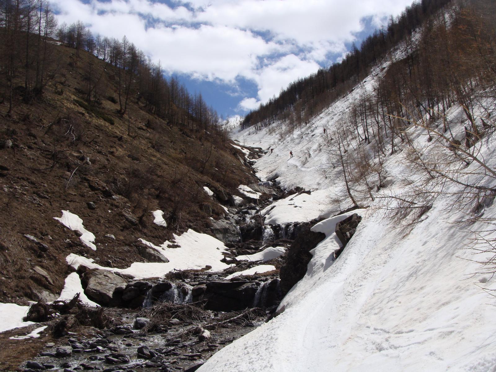 le condizioni sul torrente