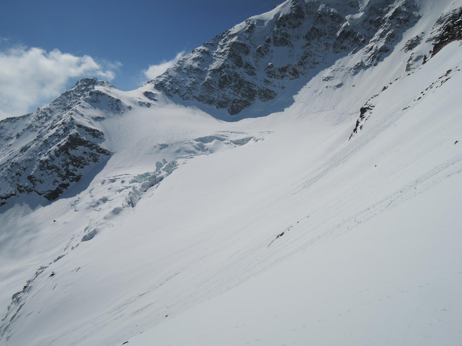Rossbode gletscher e quota 3332 sulla Breitloibgrat