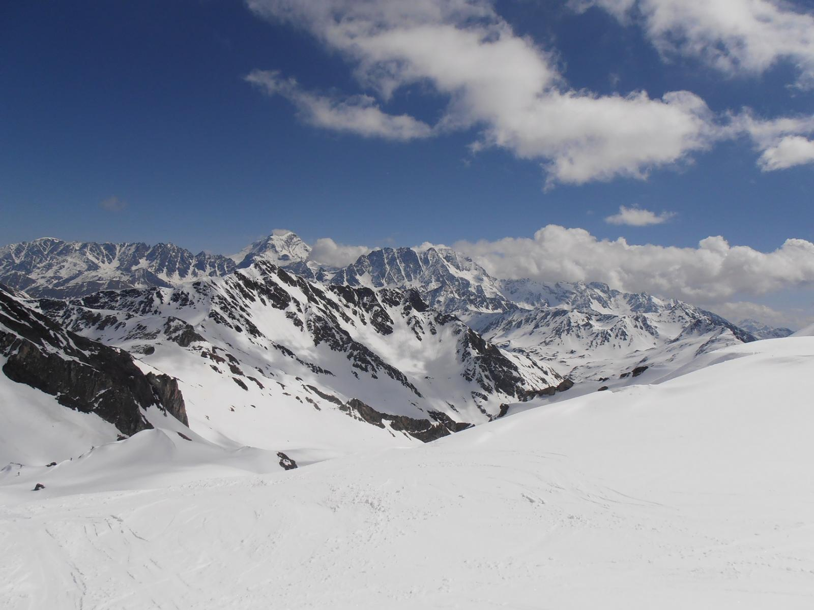 06 - Salendo, vista su Grand Combin e Mont Velan