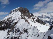La cresta sud vista dal Petit Tournalin