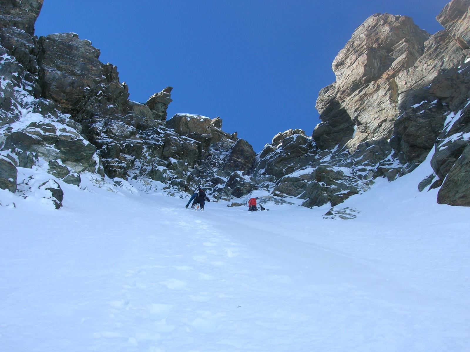 Qui Andrea ed Enrico hanno calzato gli sci