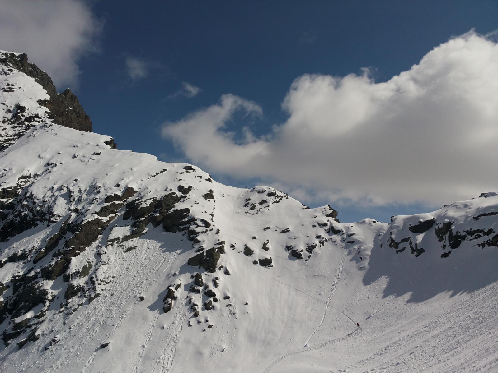 cresta Gran Tournalin versante Sud