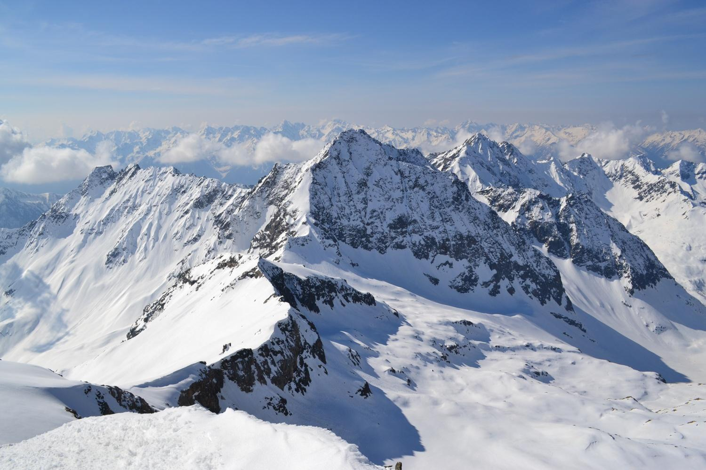 panorama verso il Piz Cancian