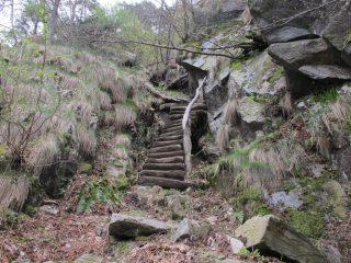 Una delle scalette