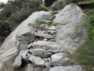 Un tratto del sentiero poco prima di Languesse