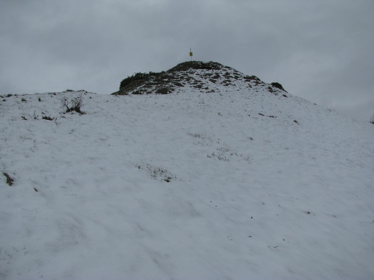Neve fresca sul tratto finale