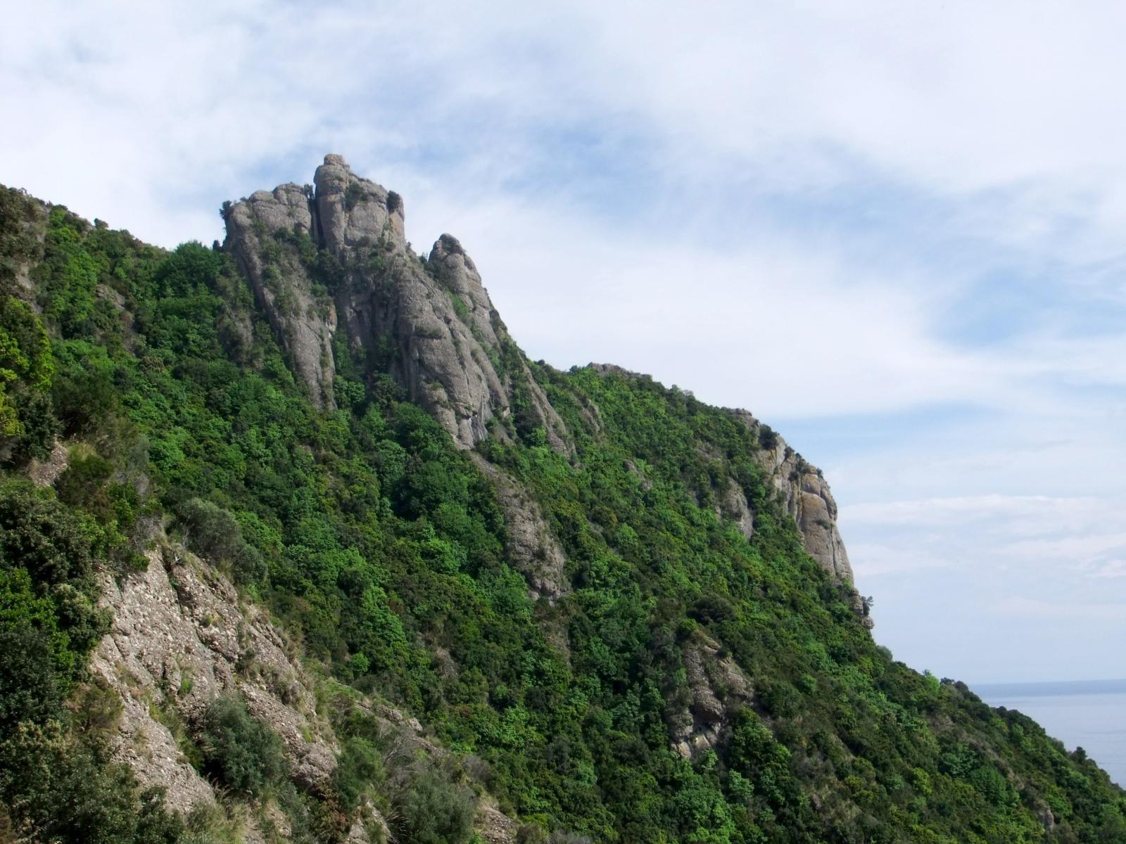 Profilo dell'uomo che dorme ( Monte Campana )