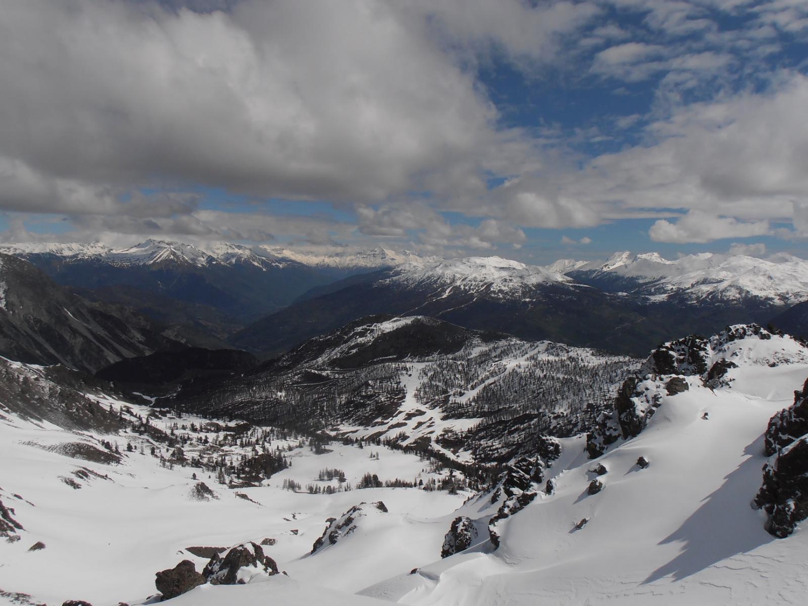 06 - verso la Val Gimont e le piste di Sagnalonga