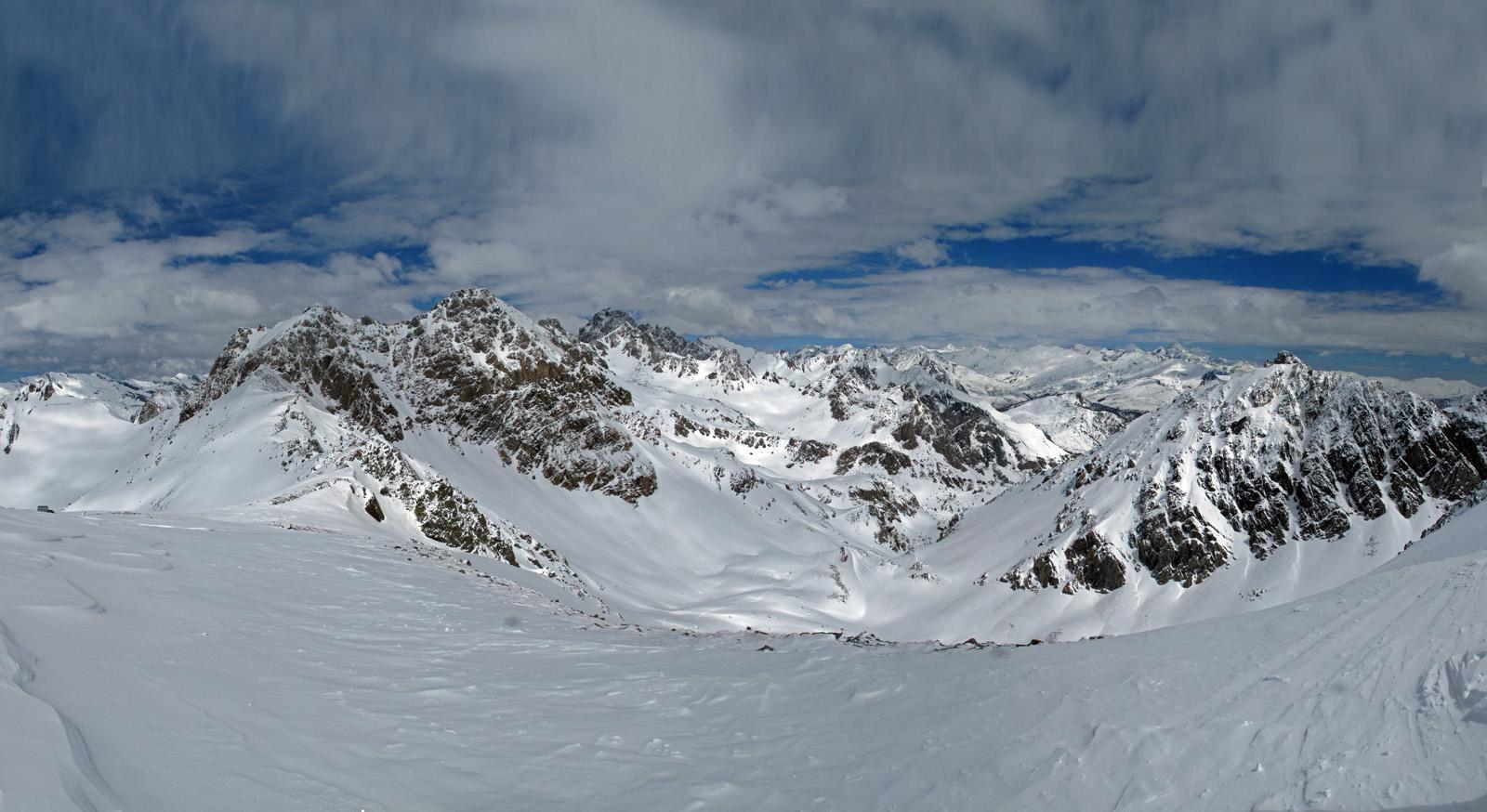 Spettacolo dal Monte Scaletta al Cobre