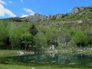 Il laghetto a Madonna del Lago