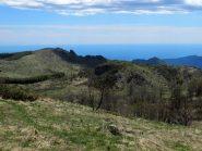 Monte Pesauto a dx e Monte Dubasso a sx