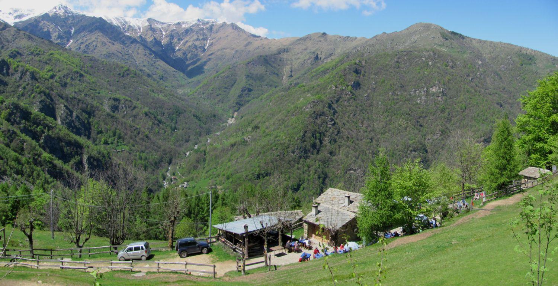 Il rifugio visto dall'alto