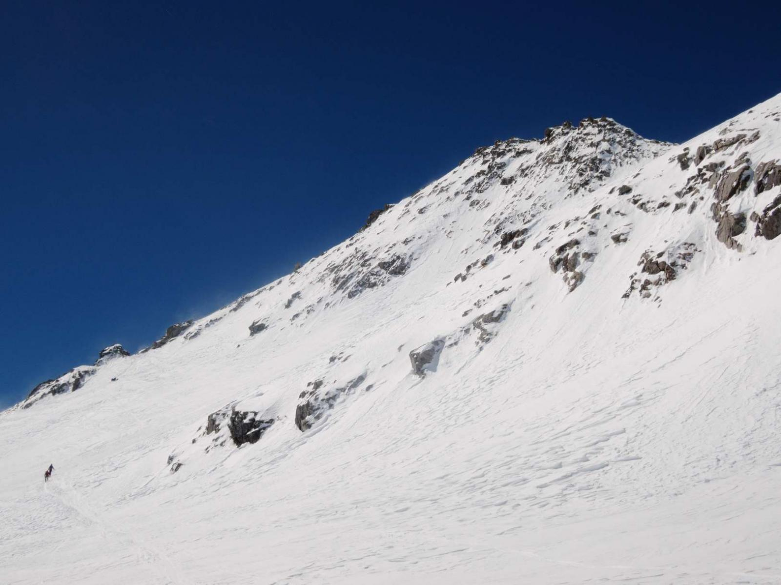 Basodino e ultimo tratto di ghiacciaio