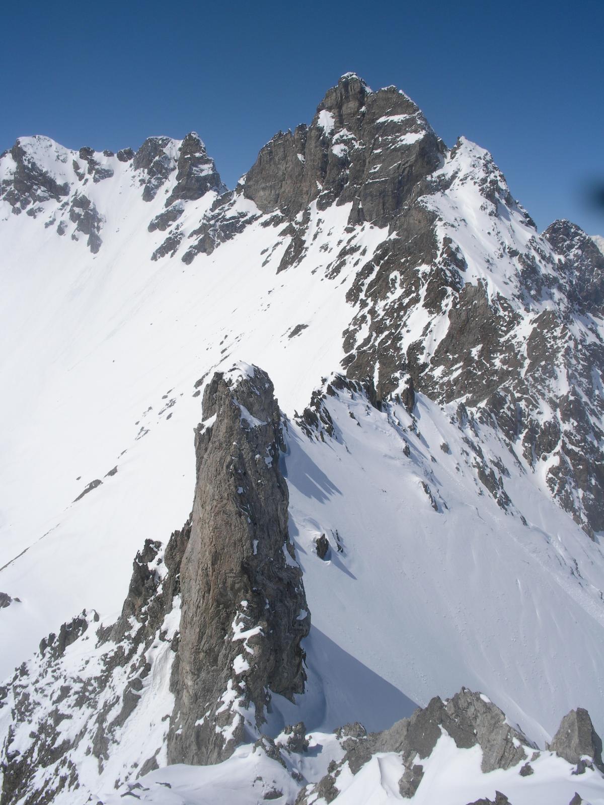 Montagnaya (Punta) per il Col Montagnaya e la cresta nord 2014-05-04