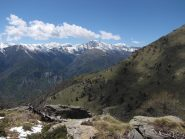 panorama e vallone di salita