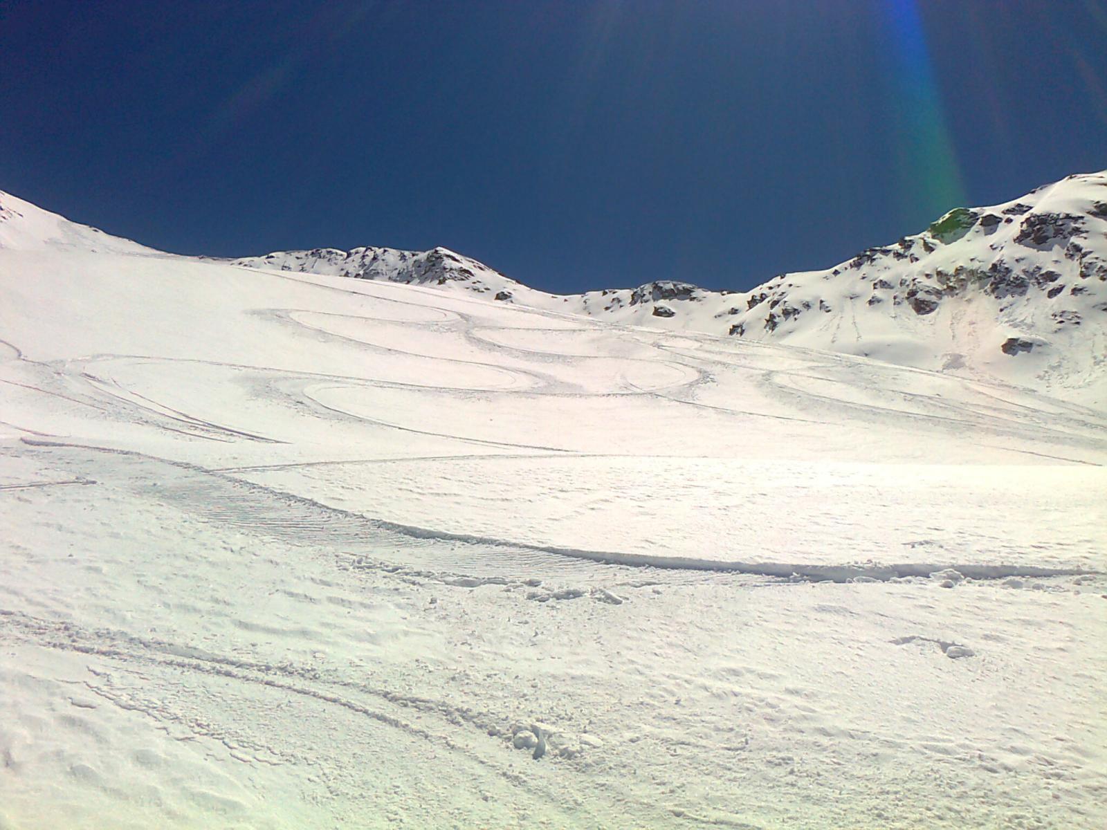 continuate a sciare sulle nuvole..