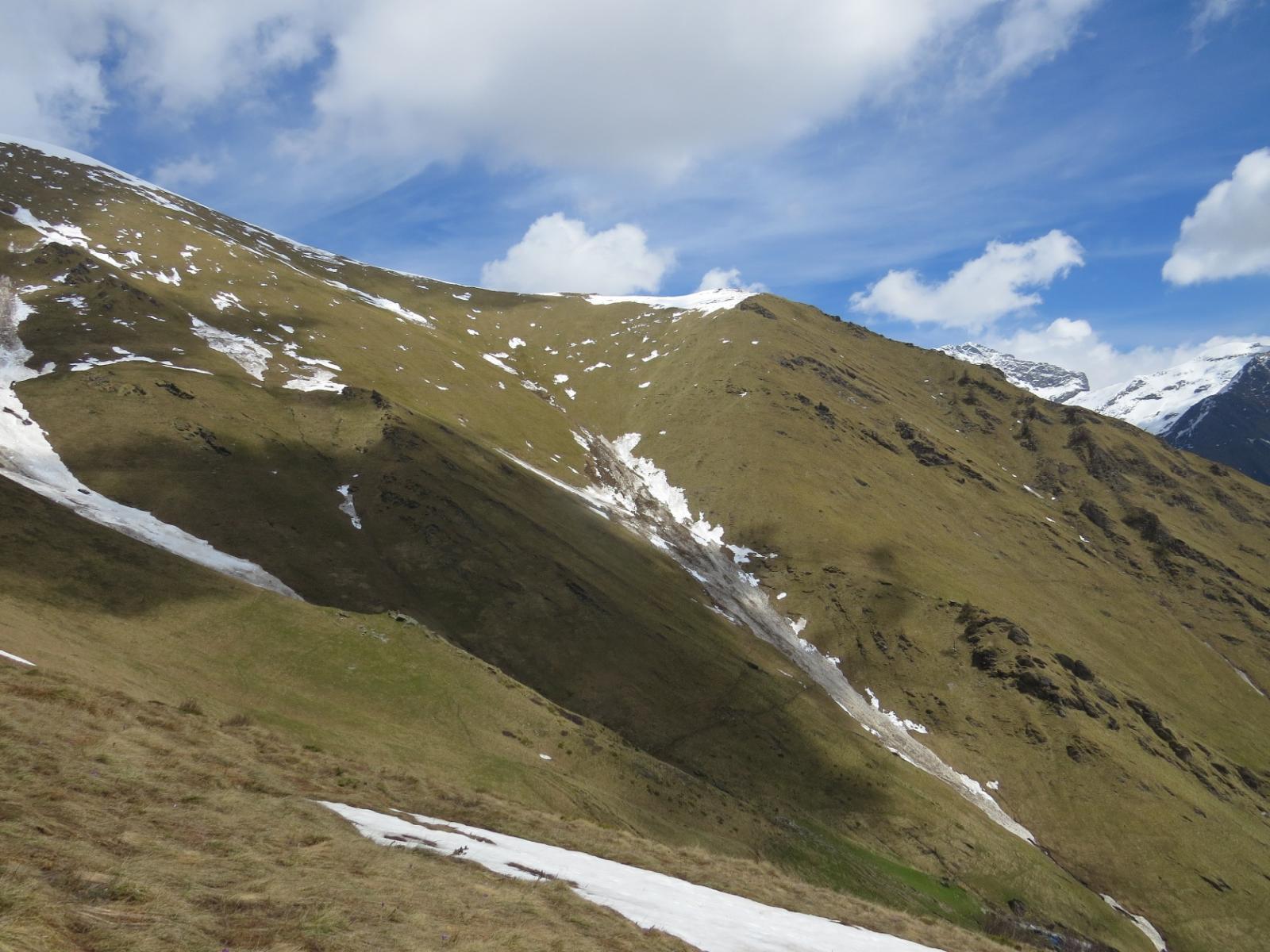 Cima Orletto dall'Alpe Civetto