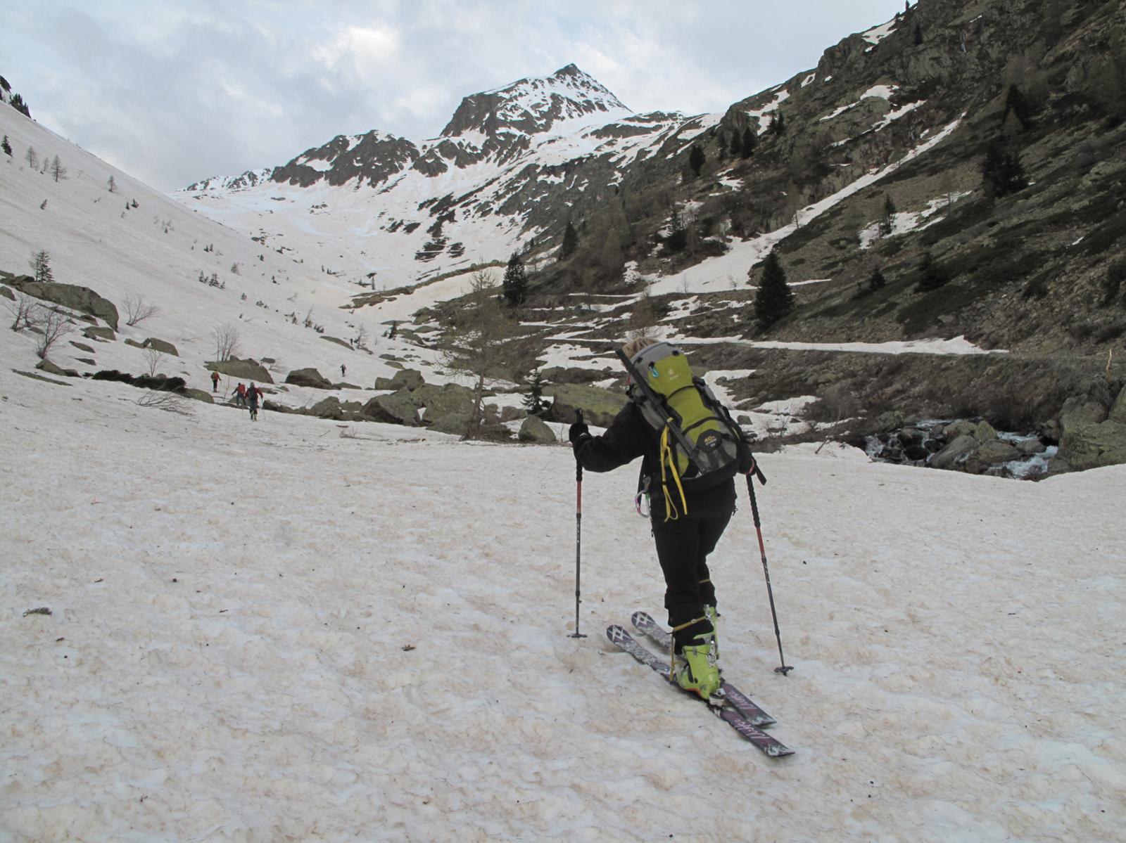 Con gli sci