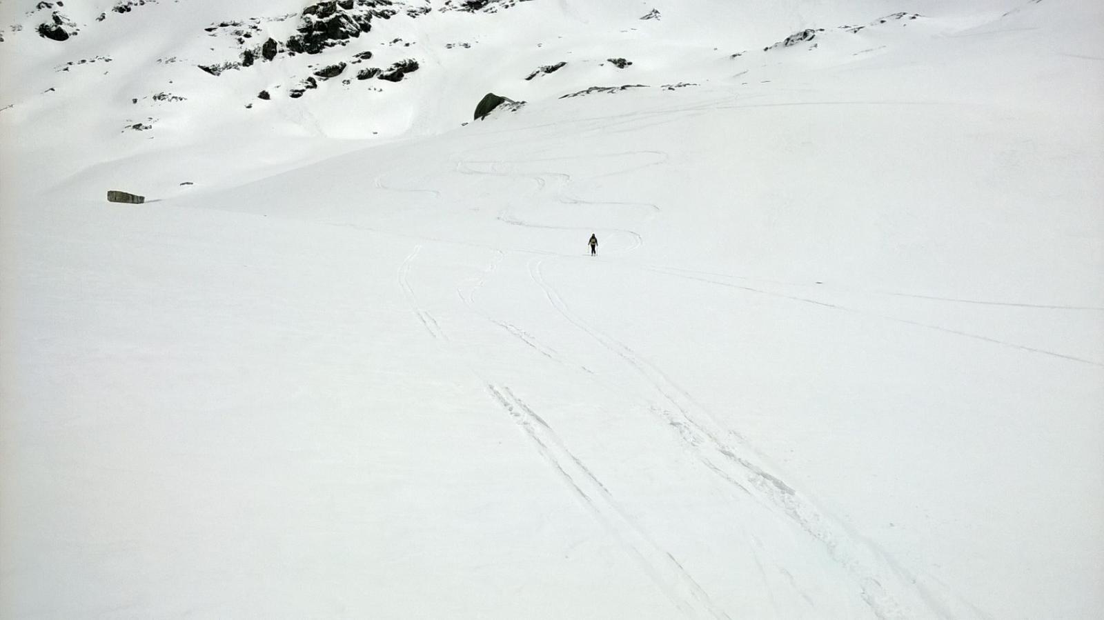 Ultimo tratto con neve primaverile