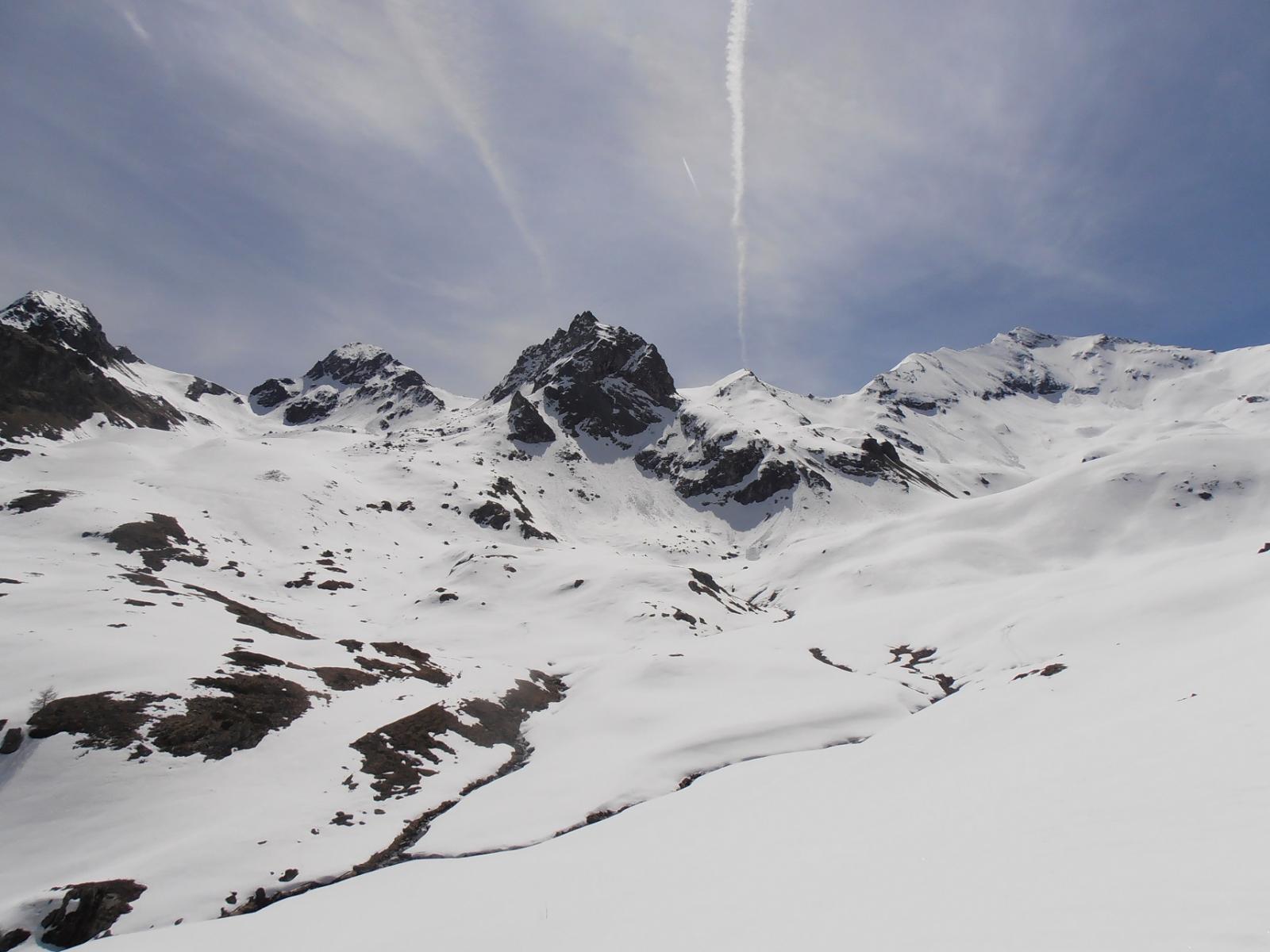20 - Dal punto panoramico, Grand Avert, Piccolo Avert e Punta Tessonet