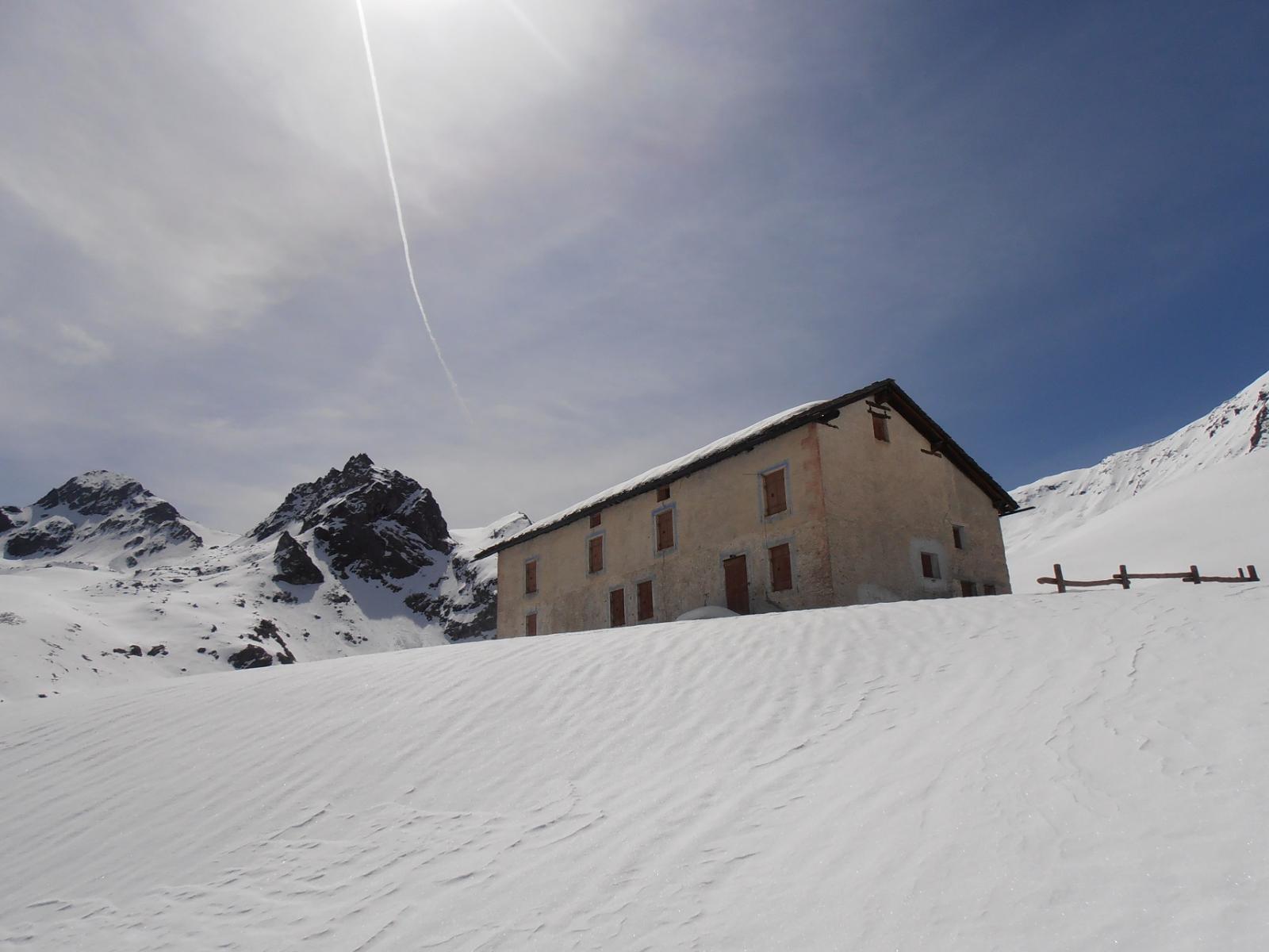 19 - l'arrivo sul manto nevoso immaccolato, ma vale la pena continuare altri 10 minuti fino al punto panoramico