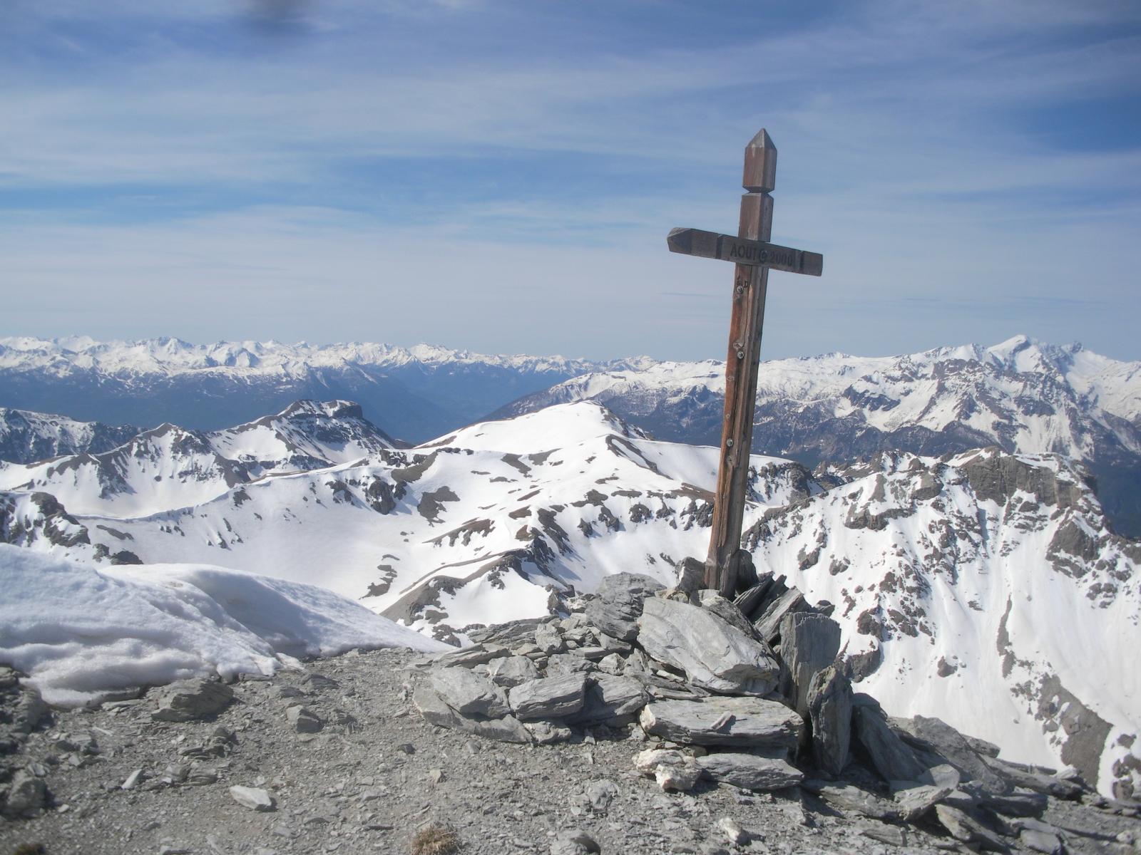 L'Alpavin dal Pic de Peyre Eyraute..