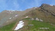 Alpe Frigerole all'andata il tempo è bello