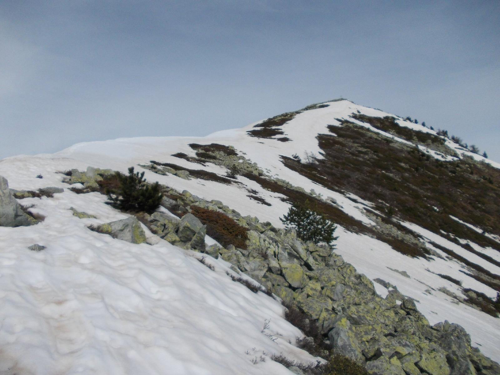 ultima neve prima della cima