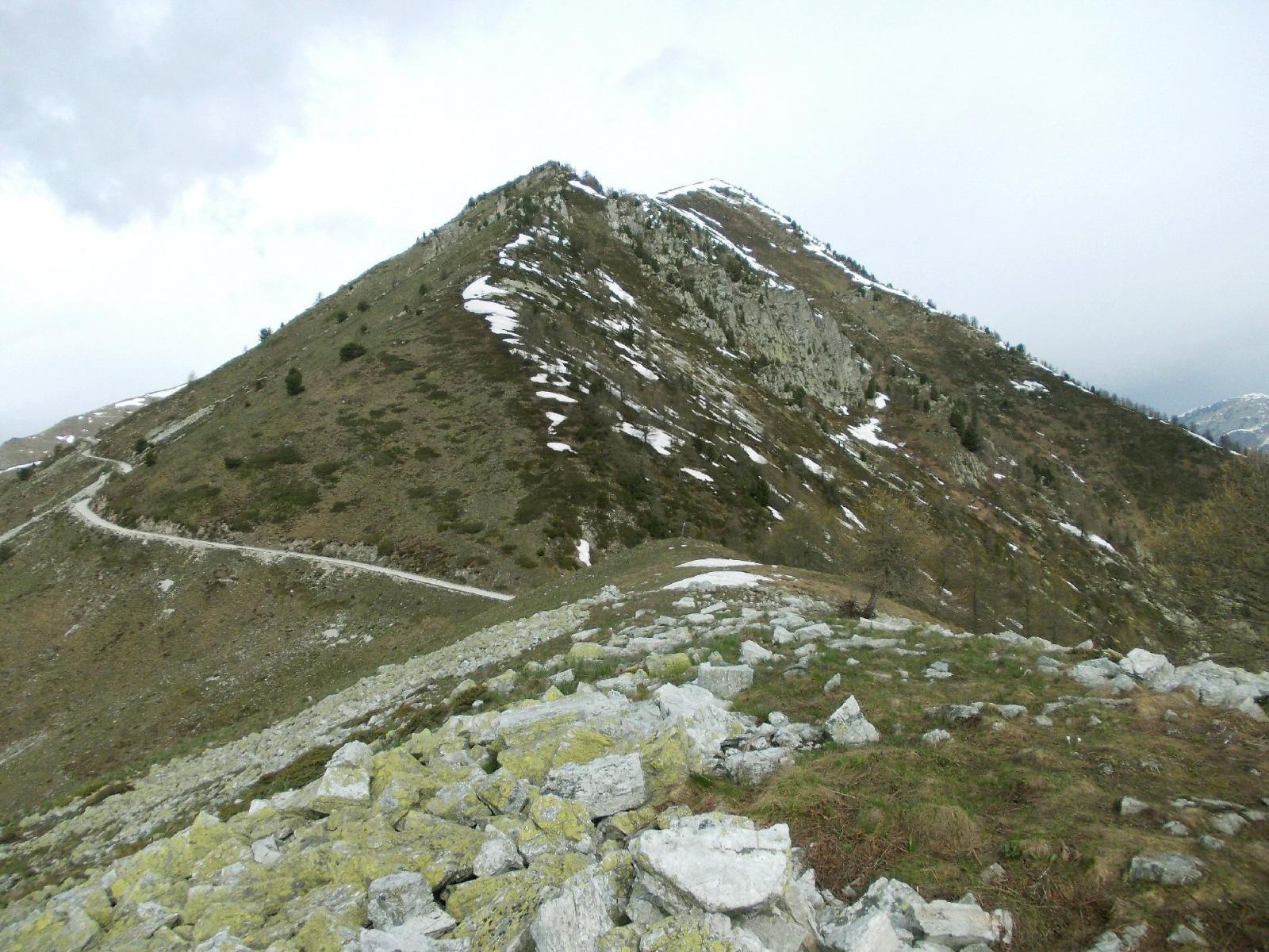 verso il Colle Rusciera